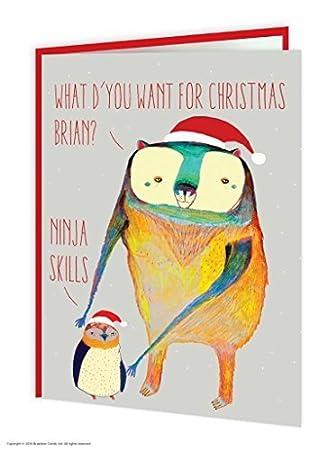 Amazon.com: BrainBox Candy Funny Humor oso pingüino ...