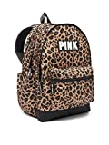 Victoria's Secret Pink Campus Backpack NEW Animal Print Leopard