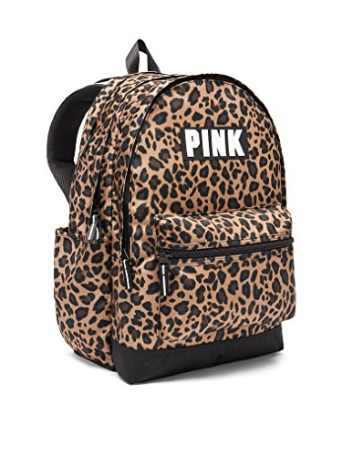 Victoria's Secret Pink Campus Backpack NEW Animal Print Leopard by VS Pink