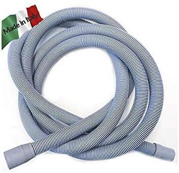 Tubo de escape lavadora lavavajillas 19 22 cm 300 m 3 Flexible PP ...