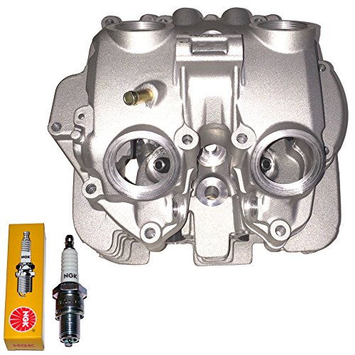 (TOP NOTCH PARTS REPLACEMENT CYLINDER HEAD POLISHED PORTS VALVE COVER FOR 1999-2008 HONDA TRX400EX TRX 400EX)