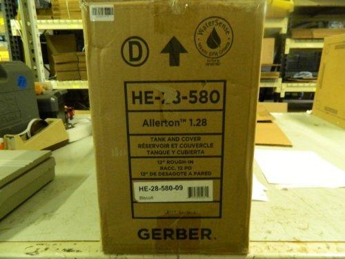 Allerton Kitchen Faucet - Allerton 1.28 GPF Toilet Tank Only in Biscuit