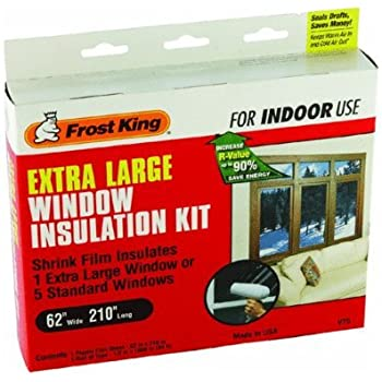 Frost King V73 9h Indoor Shrink Window Kit 42 Inch By 62
