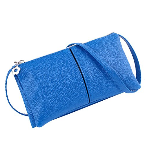 aribelly-women-leather-shoulder-bag-bifold-purse-zipper-clutch-handbag-wallet-blue