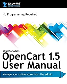 User pdf showme opencart guides 1.5 manual
