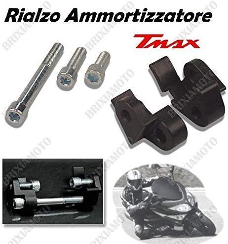 one by Camamoto cod 77520680 complete schokdemper riser kit met staander compatibel met yamaha xp t-max 500 jaar 2001…