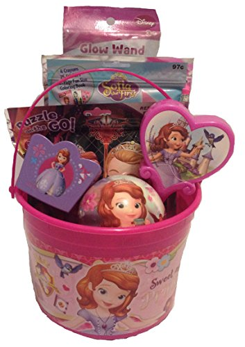Disney Princess Sofia The First Bucket of Fun Set Perfect for Easter Basket, Birthday Gift, or any other Special Occassion