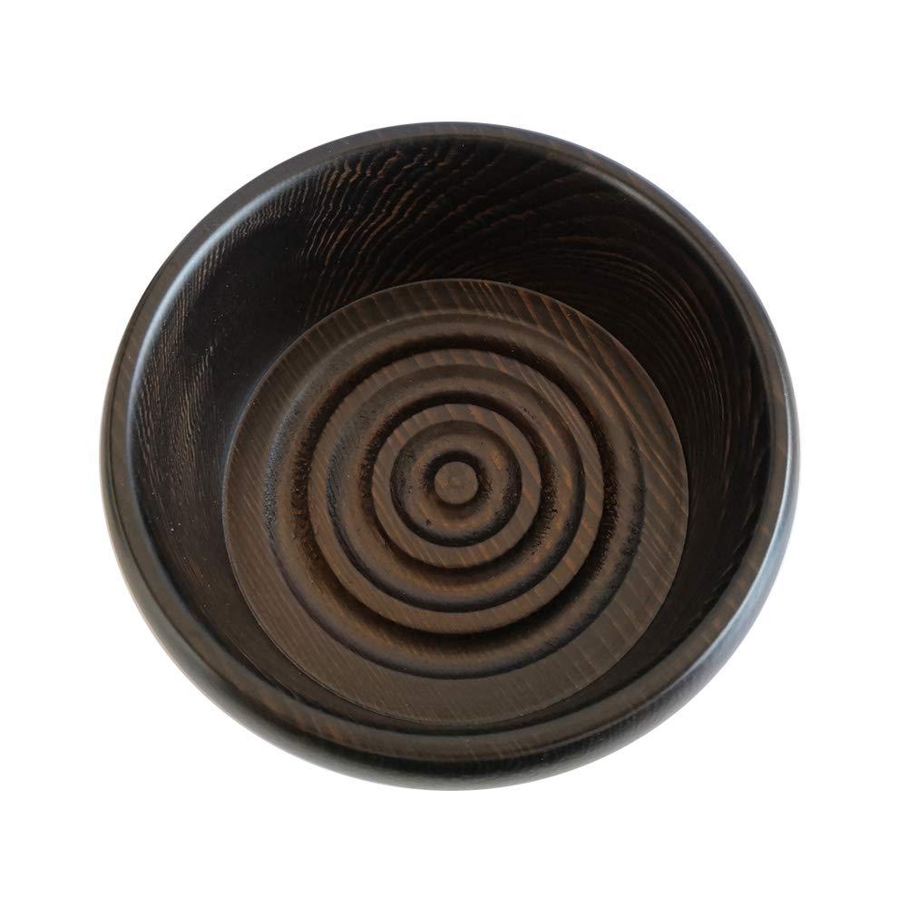 THE GOODFELLAS' SMILE Emlok Wooden Bowl for Shaving THE GOODFELLAS' SMILE
