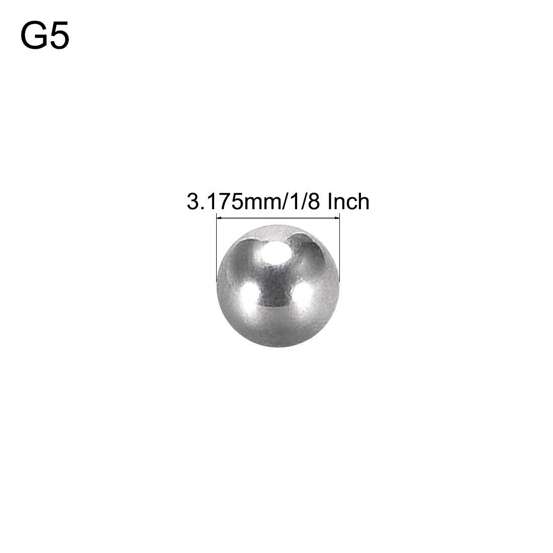 sourcing map Precision 304 Stahlkugeln Lagerkugeln Kugel Kugellager 1-3//4 Inch 44.45mm