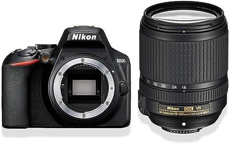 Nikon D3500 - Cámara réflex Digital con Objetivo Nikkor: Amazon.es ...