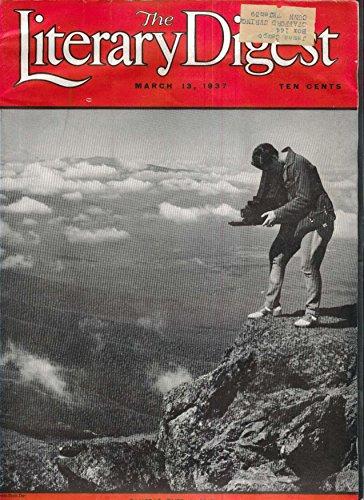 LITERARY DIGEST Myron Taylor Alaska Joseph Rappaport Geisha Hitler 3/13 - Taylor Alaska