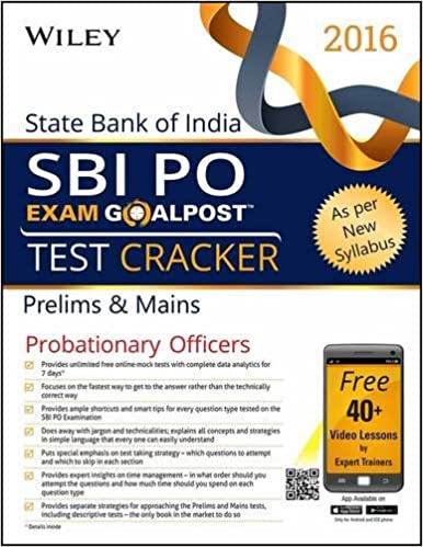Buy Wiley's State Bank of India Probationary Officer (SBI PO