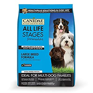 CANIDAE All Life Stages Large Breed Dog Dry Food Turkey Meal & Brown Rice Formula, 30 lb
