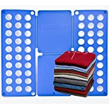 Flip & Fold Adult T-Shirt Top Clothes Folder - Crease Free Folder in a few Easy Steps by Macallen TM