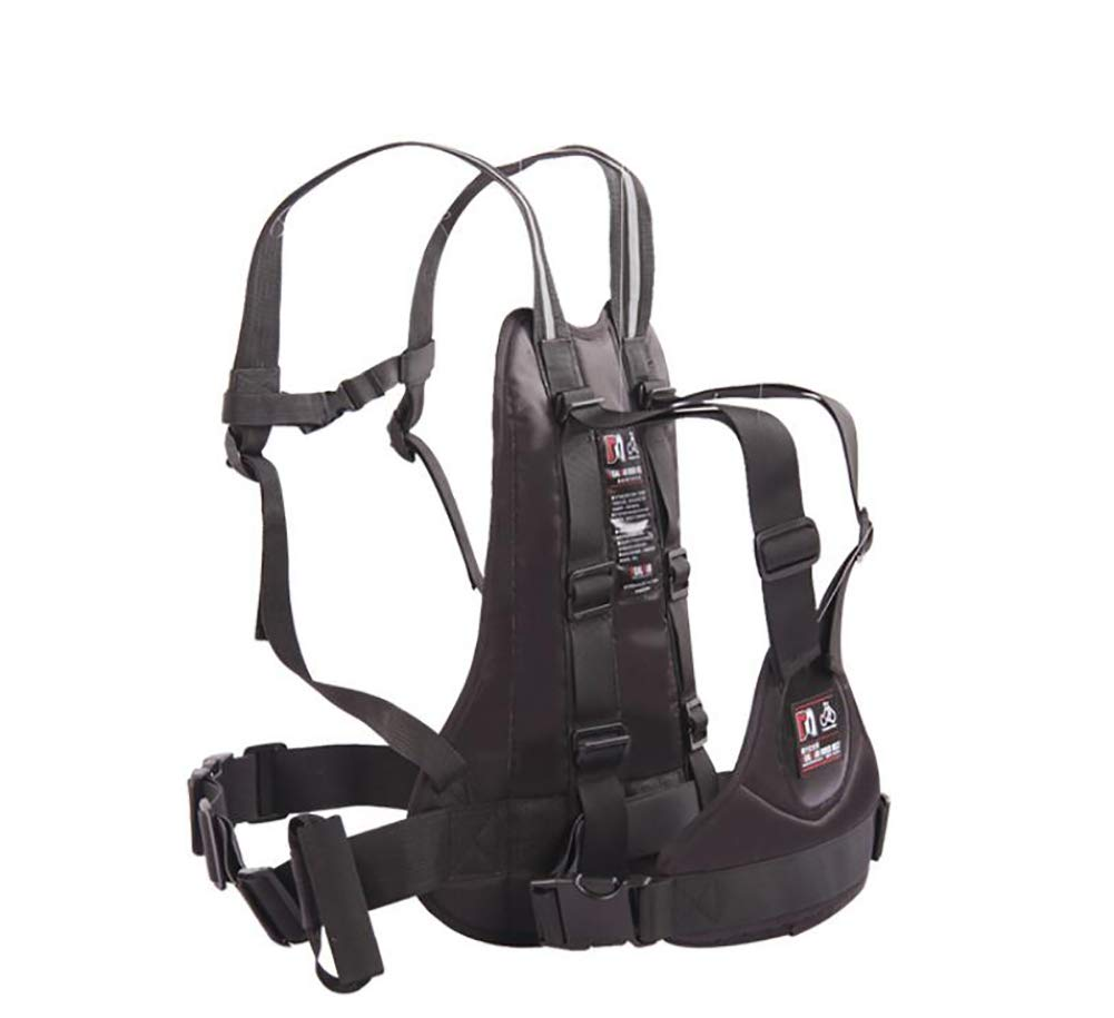 Feng High Strength Childrens Motorcycle Safety Harness Can be Adjusted Up and Down,Black.
