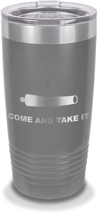 Distressed American Flag Personalized Engraved Insulated Stainless Steel 20 oz Tumbler