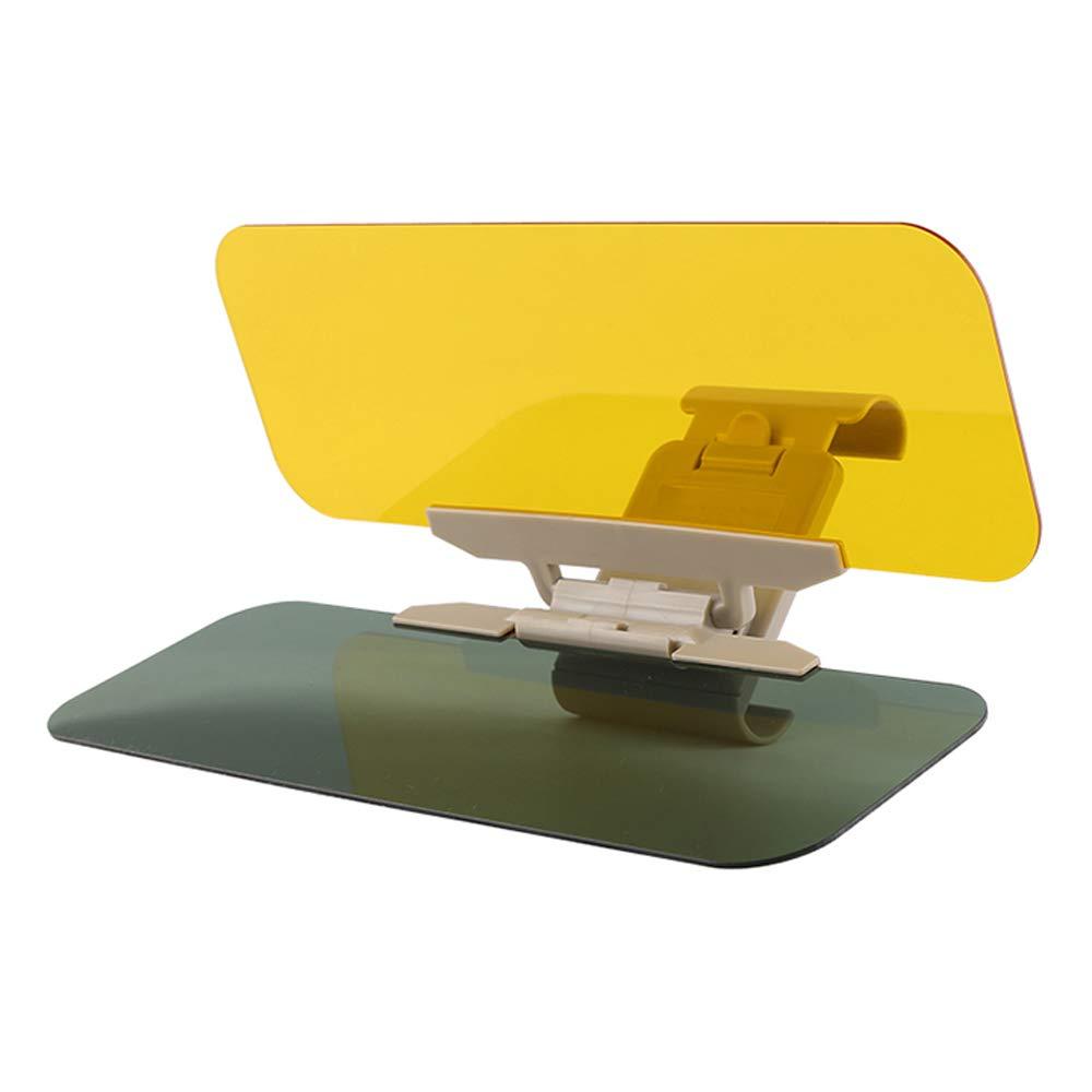 Car Sun Visor Shade, Universal 2 in 1 Automobile Sun Anti-UV Car Windshield Visor Night Anti-Glare (2pack) RongXing