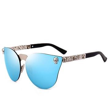 MOJINGYAN Gafas De Sol,El Diseñador De La Marca Azul Gafas ...