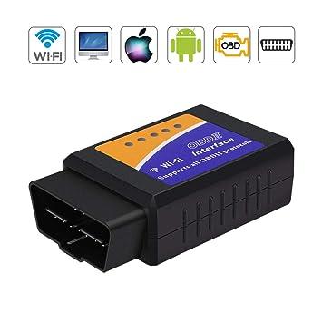 for IOS ELM327 WiFi Bluetooth OBD2 OBDII Car Diagnostic Scanner Code Reader Tool