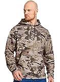 Under Armour UA Camo Big Logo Hoody - Men's Reaper Camo / Hearthstone Medium