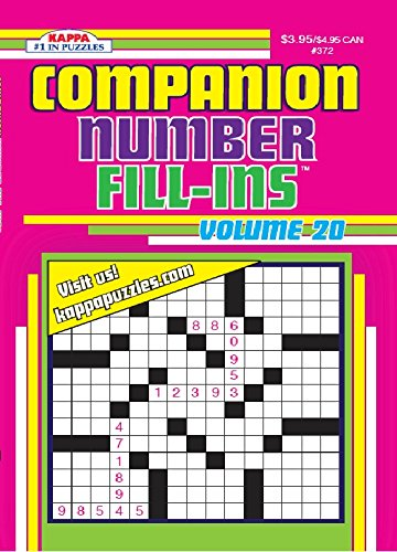 Sharpener Xx (Companion Number Fill-Ins Puzzle Book - Volume 20)