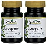 Cheap Swanson Premium Brand Lycopene 20mg — 2 Bottles each of 60 Softgels