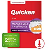 Quicken Premier 2018 – 14-Month Personal Finance & Budgeting Software [PC/Mac Download] – Amazon Exclusive