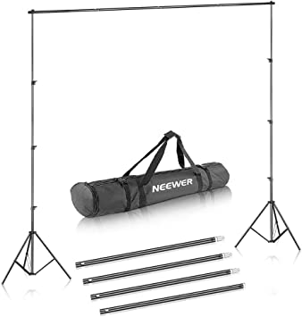 Neewer Background Stand Support System 2 6m X 3m 8 5ft X 10ft Kit