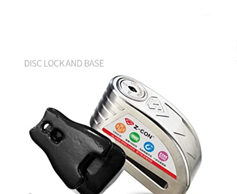 Amazon.com: STRIDCJX Motorcycle Waterproof Alarm Lock, Bike ...