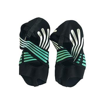 CxIACom - Zapatillas de Yoga para Mujer, Antideslizantes ...