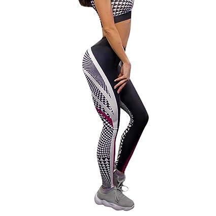 MINXINWY Mallas Piratas Mujer, Leggings Fitness Mujer ...