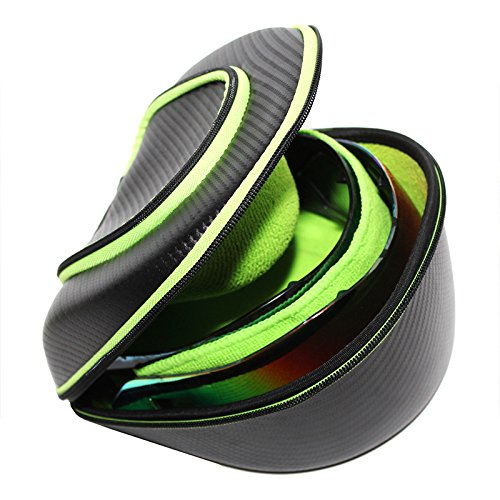 Exalt Paintball Carbon Series Lens Case - Black/Lime