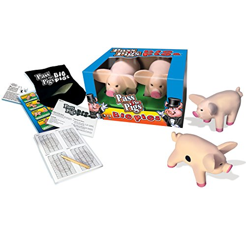 Game Of Dice Life (Winning Moves Games Pass The Pigs: Big Pigs)