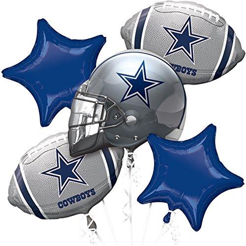 (Anagram NFL - Dallas Cowboys - Foil Balloon Bouquet,)