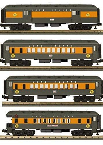MTH mth336261o-27Madison Passenger Set   Lirr ( 4)