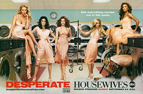 Desperate Housewives Poster TV O Teri Hatcher Felicity Huffman Marcia Cross Eva Longoria