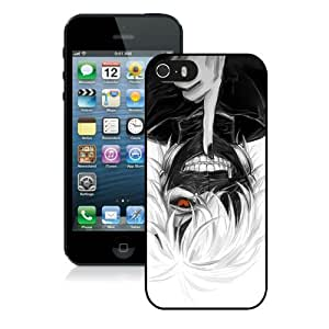Hot Sale iPhone 5 5S Screen Cover Case With Tokyo Ghoul Mask 2 Black iPhone 5 5S Case Unique And Beautiful Designed Phone Case