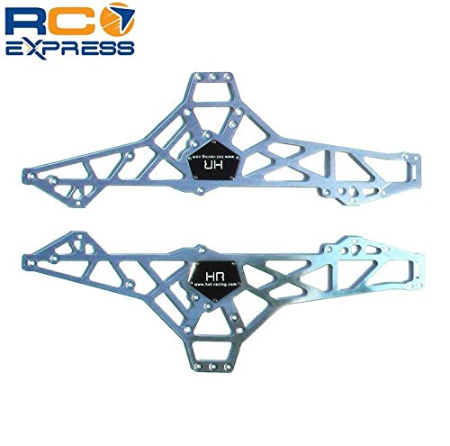 Hot Racing WK1408 Aluminum Chassis Plate Wheely (Wheely King Chassis)