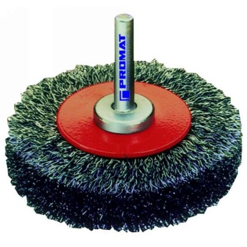 Rundbü rste mit gewelltem Stahldraht, Durchmesser mm: 40 PROMAT