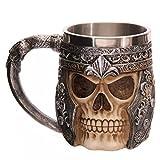 SMKF Stainless Steel Skull Coffee Mug For 3D Design