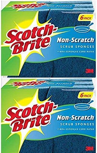 Scotch Brite Non Scratch Scrub Sponge 12 Sponges product image