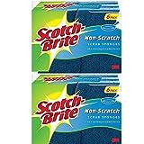 Scotch-Brite Non-Scratch Scrub Sponge, 12-Sponges