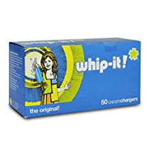 600 (50x12) Case Whip-it! NO2 Nitrous Oxide Whip Cream Chargers