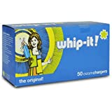 Whip-it! Whipped Cream Chargers, 50 Pack, Case of 600