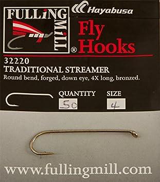 Fulling Mill NEW Traditional Streamer Hooks 50 pack