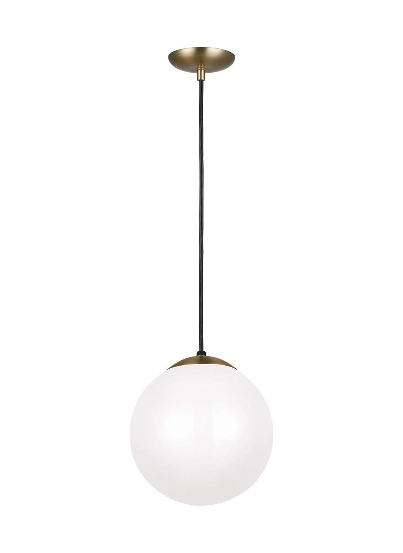 Sea Gull Lighting 6020EN3-848 Leo Hanging Globe One Light Pendant 10 Satin Bronze