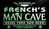 ADV PRO pb1442-g FRENCH's Man Cave Cowboys Bar Neon Light Sign