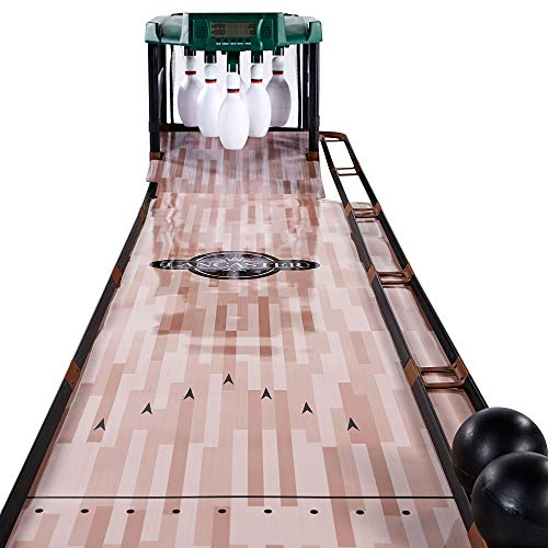 Lancaster Gaming 85 Inch Indoor Bowling Alley with Electronic Scorer Arcade -