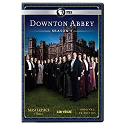The Great War is over and a long-awaited engagement is on, but all is not tranquil at Downton Abbey as wrenching social changes, romantic intrigues, and personal crises grip the majestic English country estate for a third thrilling season. As other g...