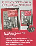 Elementary Principles of Chemical Processes, Felder, Richard M. and Rousseau, Ronald W., 0471720631
